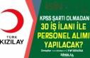 Kızılay 30 Faklı İş İlanı İle Türkiye Geneli...