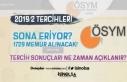 KPSS 2019/2 Tercihleri Sona Eriyor! Memur Alımı...