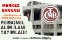 Merkez Bankası Lise Mezunu 50 KPSS Puanı İle Personel...