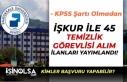 Pamukkale Üniversitesi İlköğretim Mezunu 45 Temizlik...