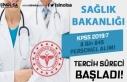 Sağlık Bakanlığı KPSS 2019/7 İle 8845 Personel...