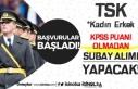 TSK Kadın Erkek Hukuk Sınıfı Subay Alımında...