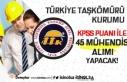 TTK 399 Sayılı KHK'ya tabi Sözleşmeli 45...