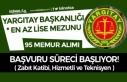 Yargıtay 95 Zabıt Katibi, Hizmetli ve Teknisyen...