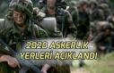 2020 Ocak Şubat Mart Askerlik Yerleri Belli Oldu!...