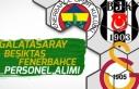 Galatasaray, Fenerbahçe ve Beşiktaş Spor Kulübü...