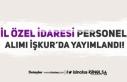 İl Özel İdaresine Sınavsız Geçici 13 Personel...