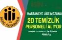 İnönü Üniversitesi Hastaneye 20 Temizlik Görevlisi...