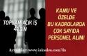 İŞKUR Üzerinden Kamuya ve Özele 41 Bin Memur ve...