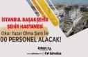 İstanbul Şehir Hastanesi İnşaatında Çalışacak...