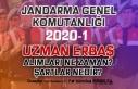 Jandarma 2020-1 Sözleşmeli Uzman Erbaş Alımları...