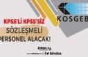 KOSGEB KPSS Puanı ile veya KPSS Olmadan Sözleşmeli...