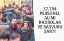 57 Bin 704 Personel Alımı En Çok Hangi Kadrolarda...