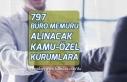 797 Büro Memuru Alımına Başvurularda Lise Mezunu...