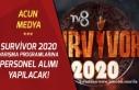 Acun Medya, TV8 ve Survivor 2020 İçin personel Alımı...
