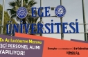 Ege Üniversitesi İlköğretim ve Lise Mezunu İşçi...