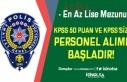 EGM KPSS 50 Puan ile ve KPSS Şartı Olmadan Personel...