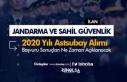 Jandarma ve Sahil Güvenlik 2020 Yılı Astsubay Alımı...
