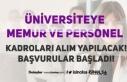 Kayseri Üniversitesi 27 Büro Memuru, Destek Personeli,...