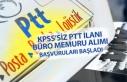 KPSS'siz PTT İlanı; Otoyol Acentesi Büro Memuru...