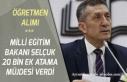 Milli Eğitim Bakanı Ziya Selçuk 20 Bin Öğretmen...