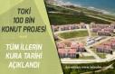 TOKİ 100 Bin Sosyal Konut Projesi Ankara, İstanbul,...