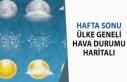 Türkiye Geneli 29 Şubat - 1 Mart Hafta Sonu Hava...