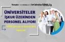 Üniversiteler İŞKUR Üzerinde Kura İle Personel...