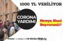 Ailelere Verilen 1000 TL Corona Yardımı Başvurusu...