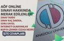 AÖF İnternetten Online Sınavı Tarihi! Soru Sayısı,...