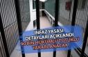 İnfaz Yasası Açıklandı! 90 Bin Hükümlü Tutuklu...