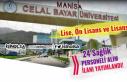 Manisa Celal Bayar Üniversitesi 24 Sağlık Personeli...