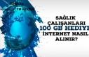 Sağlık Çalışanları 100 GB Hediye İnternet Nasıl...
