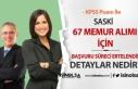 SASKİ Genel Müdürlüğü 67 Memur Alım İlanı'da...