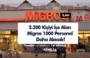2.200 Kişiyi İşe Alan Migros 1000 Personel Daha...