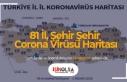 81 İl, Şehir Şehir Corona Virüsü Haritası