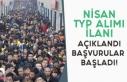 İŞKUR Nisan Ayı TYP Alım İlanları Açıklanmaya...
