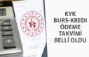 Nisan KYK Burs, Kredi Ödemesi T.C. Numarasına Göre...