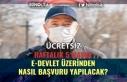 PTT, Ücretsiz Maske Başvuruları E-Devlet'ten...