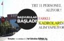 TRT KPSS Şartsız 11 Pozisyonda Personel Alacak!