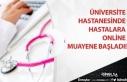 Üniversite Hastanesinde Hastalara Online Muayene...