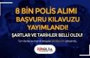 27. Dönem POMEM 8 Bin Polis Alımı Kılavuzu Yayımlandı!...