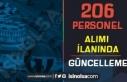 Gaziantep Üniversitesi 206 Personel Alımı İlanında...