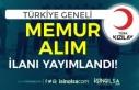 Kızılay Türkiye Geneli KPSS Siz Memur Alımı İlanı...