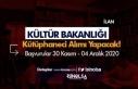 Kültür ve Turizm Bakanlığı KPSS İle Kütüphaneci...
