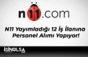 N11 Yayımladığı 12 İş İlanına Personel Alımı...