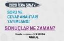 ÖSYM 2020 Yılı İcra Müdür ve Yardımcılar Sınavı...
