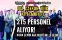 DSİ, ÇAYKUR, TÜİK ve Kıyı Emniyeti 215 Personel...