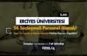 Erciyes Üniversitesi 56 Sözleşmeli Personel Alacak!...