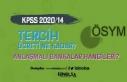 KPSS 2020/14 Tercih Ücreti Ne Kadar? Anlaşmalı...